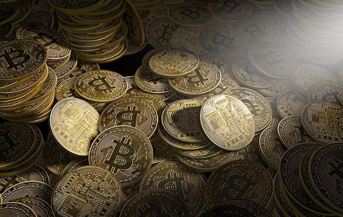 数字货币集体走高 比特币价格飙升涨幅近四成