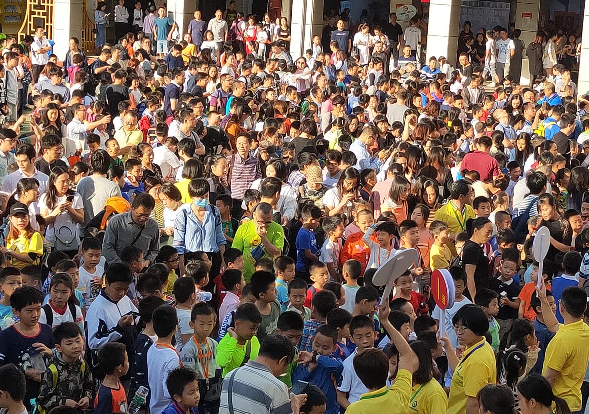 ?超千人参加第24届深圳快乐棋童国际象棋等级赛