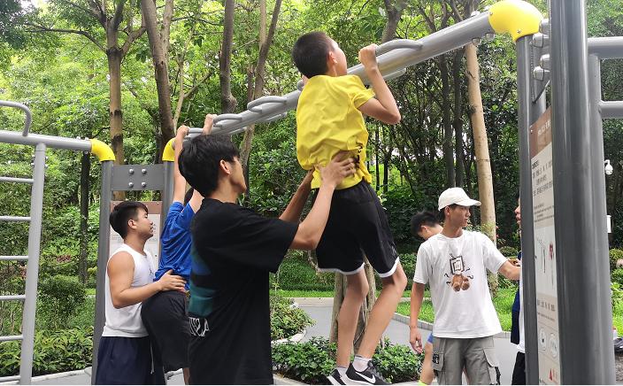 推进鹏城体育民生工程 深圳将落地300套室外智能健身设施