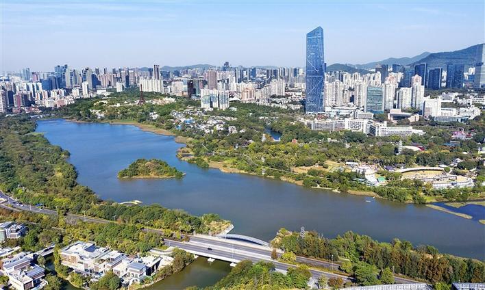 """南山173个公园成""""城市插图"""""""