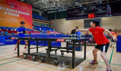 深圳十运会竞技体育组乒乓球比赛落幕 南山区夺团体第一