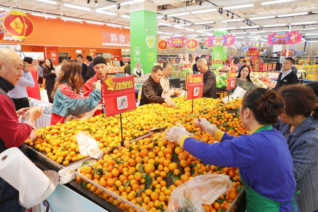 鑫荣懋携手沃尔玛持续精准帮扶大化柑桔产业