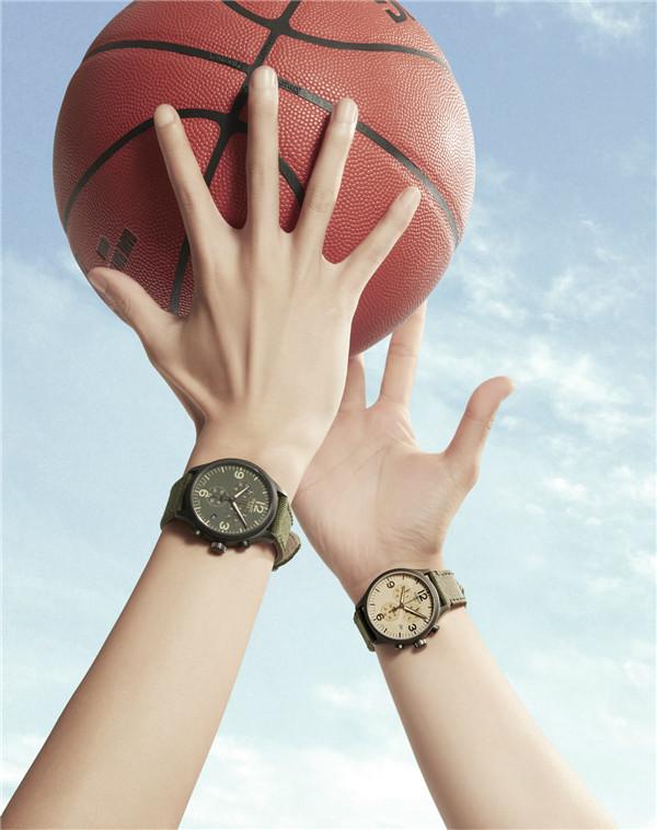 天梭表将篮球运动融入时尚生活 点燃腕间夏日狂