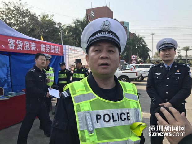 深圳交警局_这个成就离不开默默付出的交警同志,让人感觉到深圳是有爱,温暖的城市