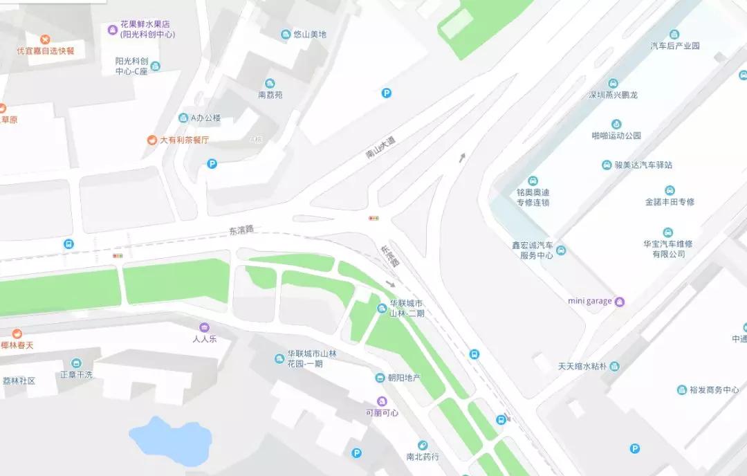 天桥东街道地图