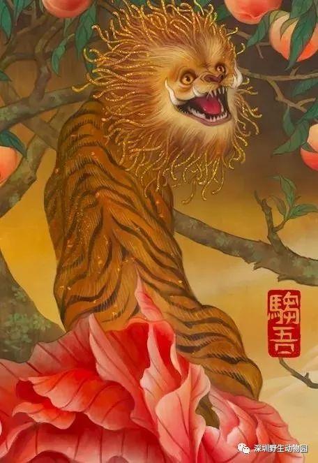 我把「神奇动物」驺吾( zōu wú)的小老弟们都找出来