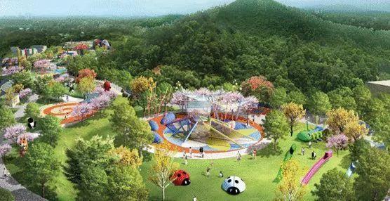 坪山区儿童公园丛林草坪效果图 坪山区儿童公园设计是不是 看点多多