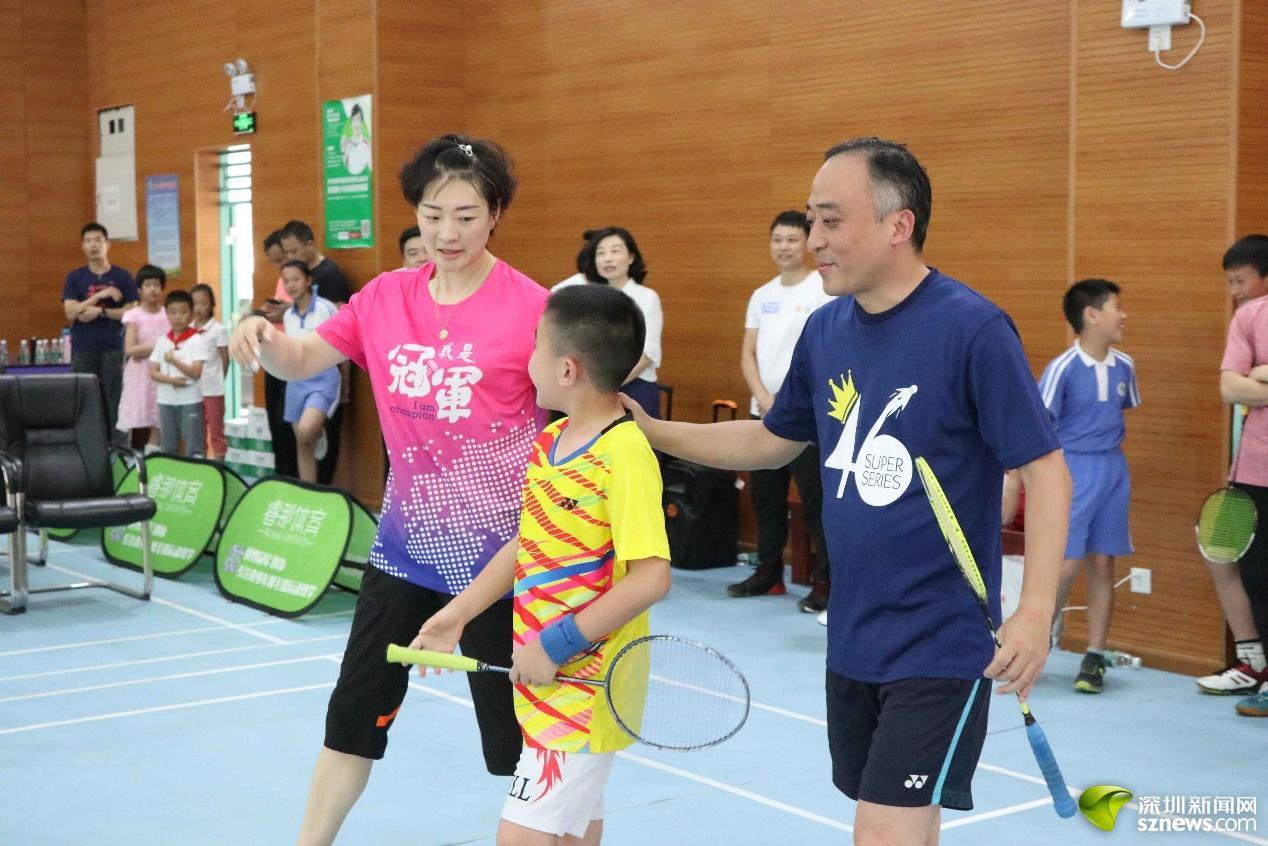 世界冠军羽毛球锻练基地创制景田幼学的羽娃们有福啦!