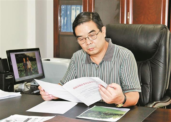 王晓明:用专业知识为深圳园林绿化建设出谋划