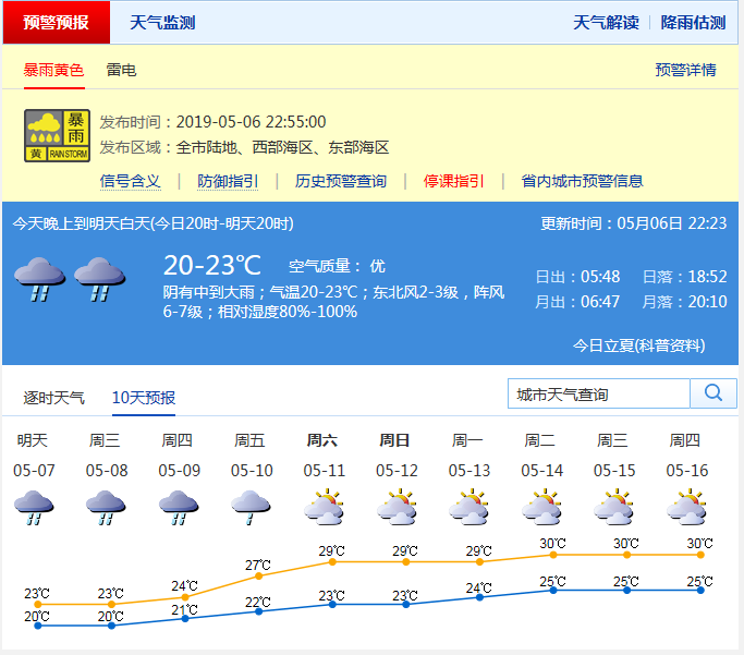 皇瑟网站网址_深圳发布暴雨黄色分区预警!预计11日起停止降水