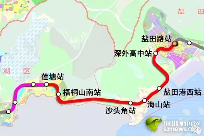地铁8号线一期工程线路图