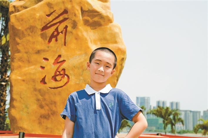 中国梦 践行者 最美南粤少年张子凡 数学小王子 智慧好少年