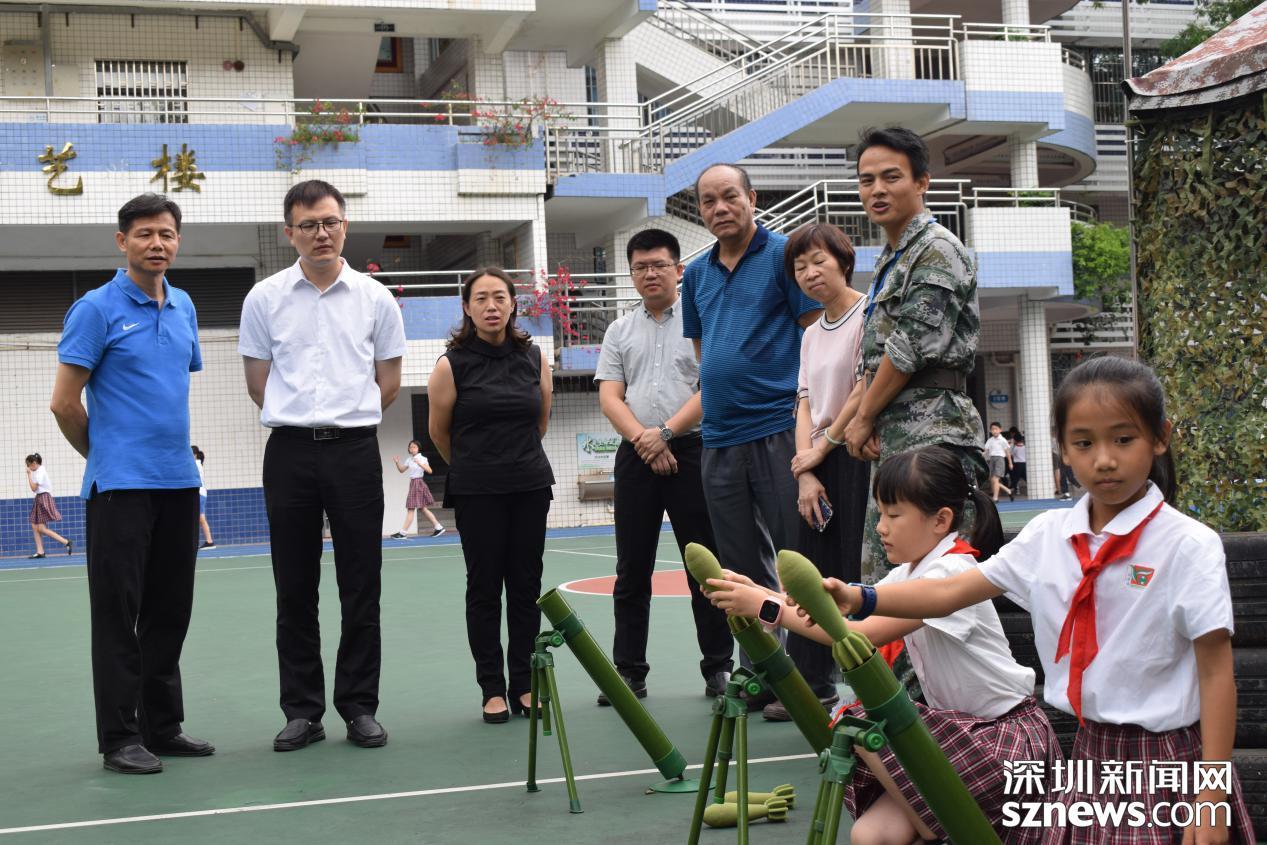 南華小學舉行愛國體驗教育活動