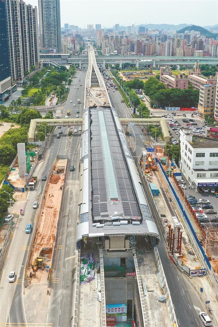 深圳地铁6号线又有新进展!明年5月开通试运营,可直达光明图片