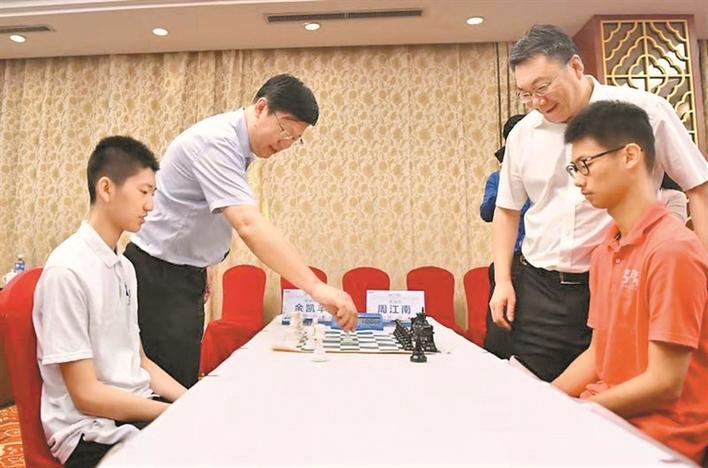 """首届""""报业杯""""深圳青岛国象对抗赛圆满结束图片"""