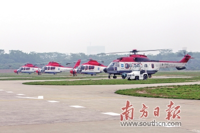 """南头直升机场迁址龙华 南山盘活1200万平方米""""黄"""