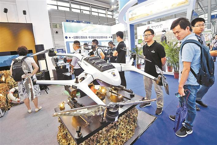 无人机协会杨金才会长:深圳无人机力拓产业版图图片