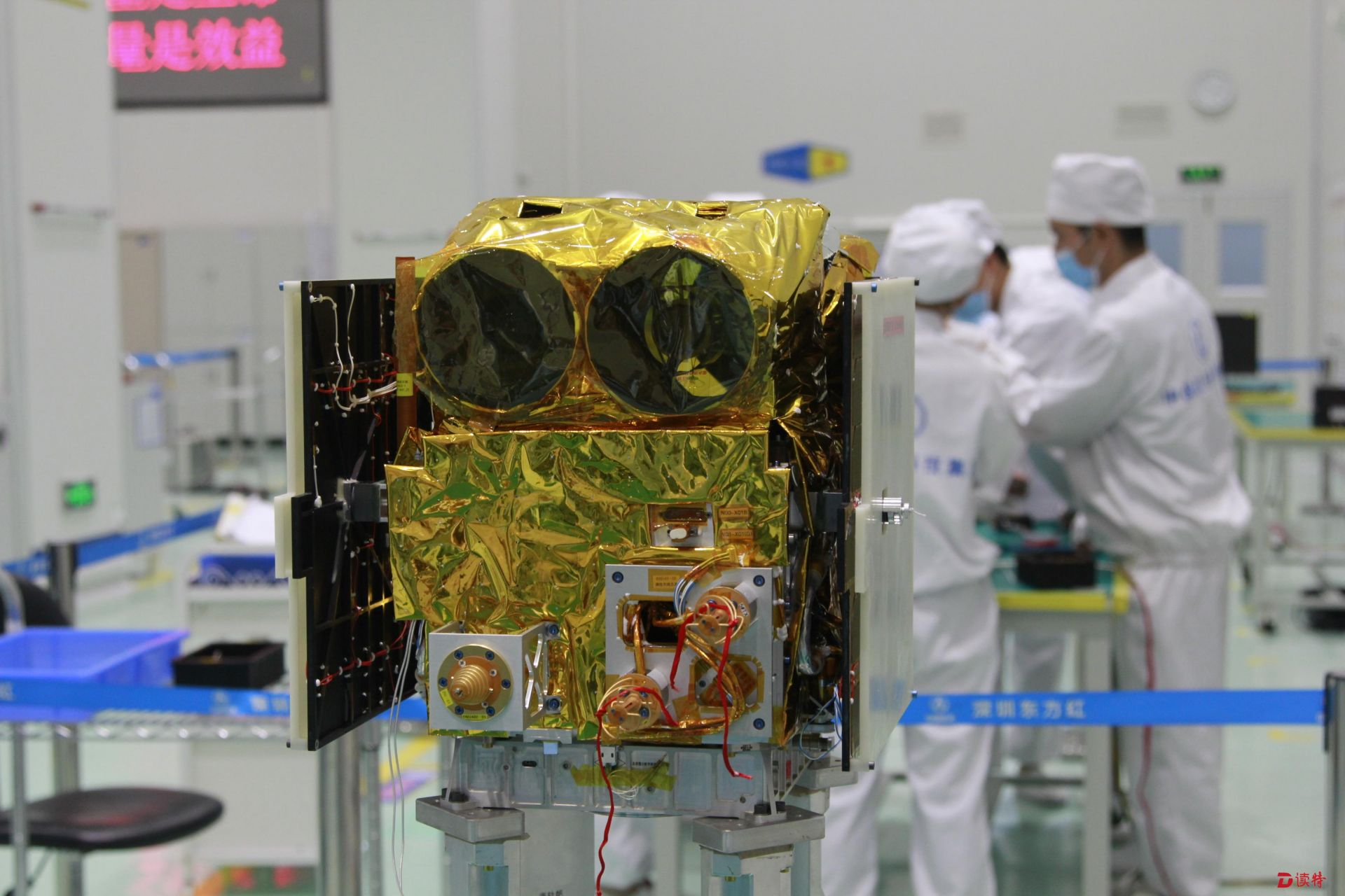 深圳制造中国首颗极地遥感专用卫星 预计今年9月发射升空