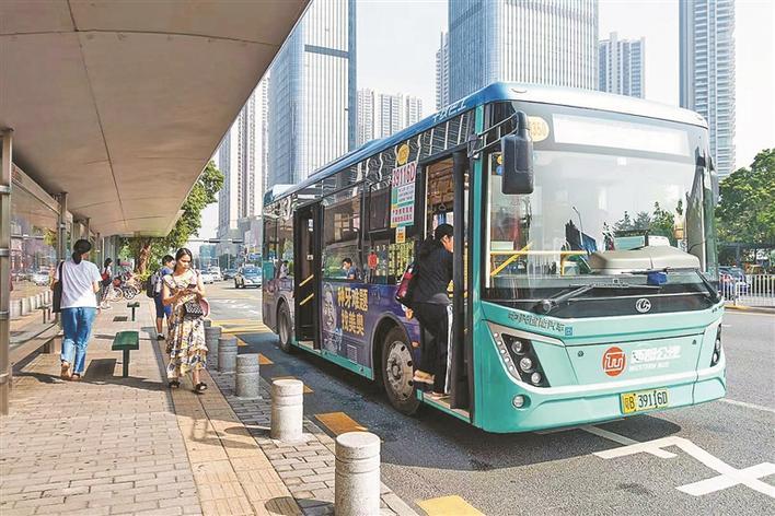 深圳到明年至少新增66公里公交专用道 还将落实这5大举措图片