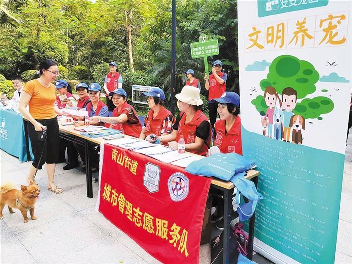 """深圳将试点文明养犬管理""""十个一""""模式 小区住户须签养犬公约"""