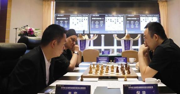 顶级棋手云集 2019乐虎国际罗湖国际象棋全明星赛开赛(组图)