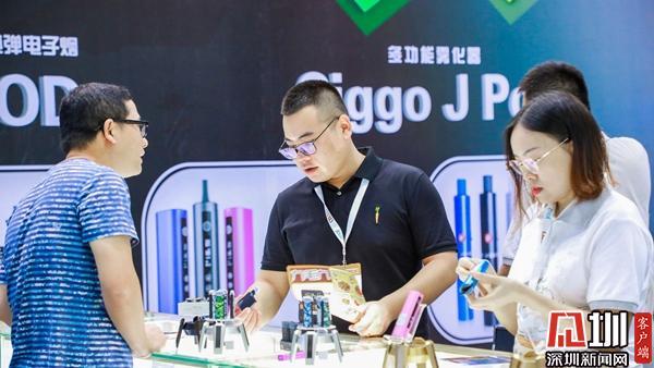 RHBVE深圳国际电子烟展盛大开幕
