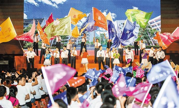 深圳中小学今天开学