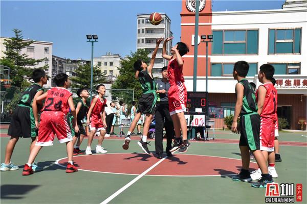 """为梦想而战!400名小球员角逐龙岗""""体彩杯""""青少年篮球联赛"""