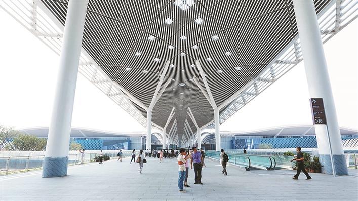 """深圳国际会展中心:""""超级工程""""创下8项""""世界"""