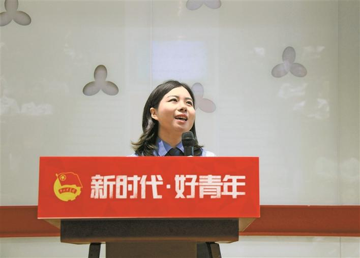 张娜:做一名善良且公正的法律守护者