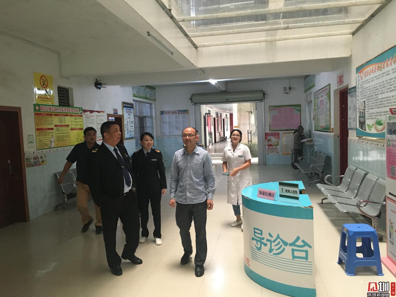 南山区卫生监督所远赴广西德保县、田阳县开