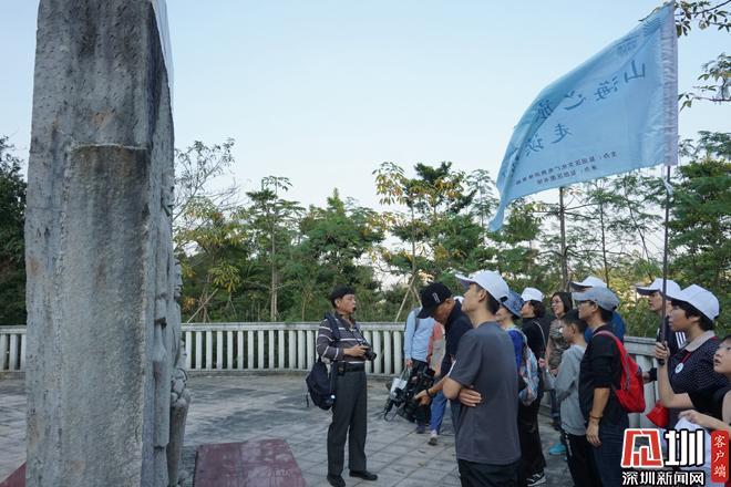 盐田读者走进庚子首义雕塑园 解读雕塑背后的历史故事