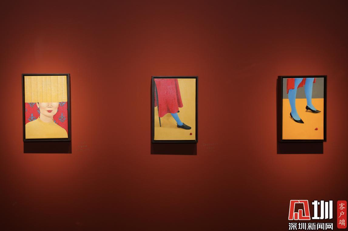 《小像》深圳星河国风艺术馆开幕 业晓凯28幅画作精彩呈现