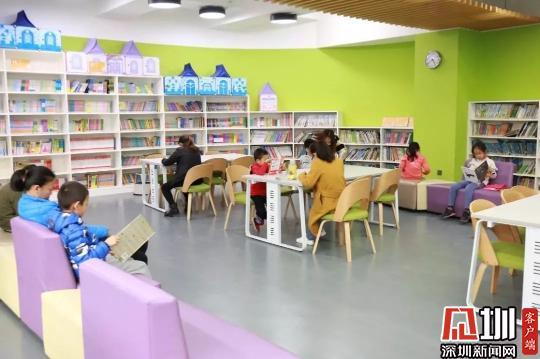 号外!深中南山创新学校图书馆开放啦!