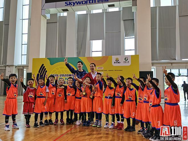 盐田区海之梦篮球队获得市级青少年篮球赛事冠军