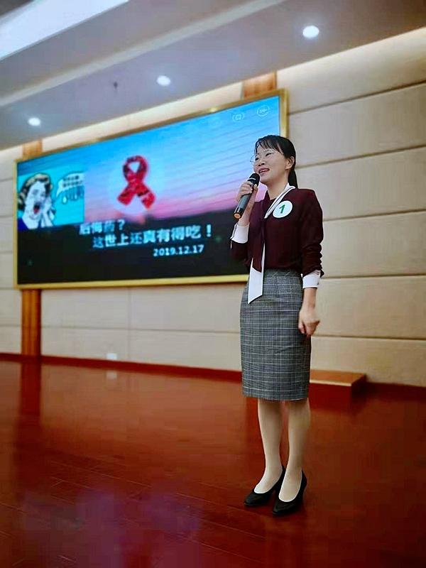 龙岗区疾病预防控制中心举办首届健康科普能力