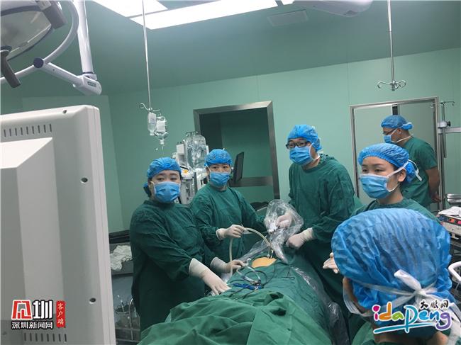 南澳人民医院成功开展首例单孔腹腔镜手术