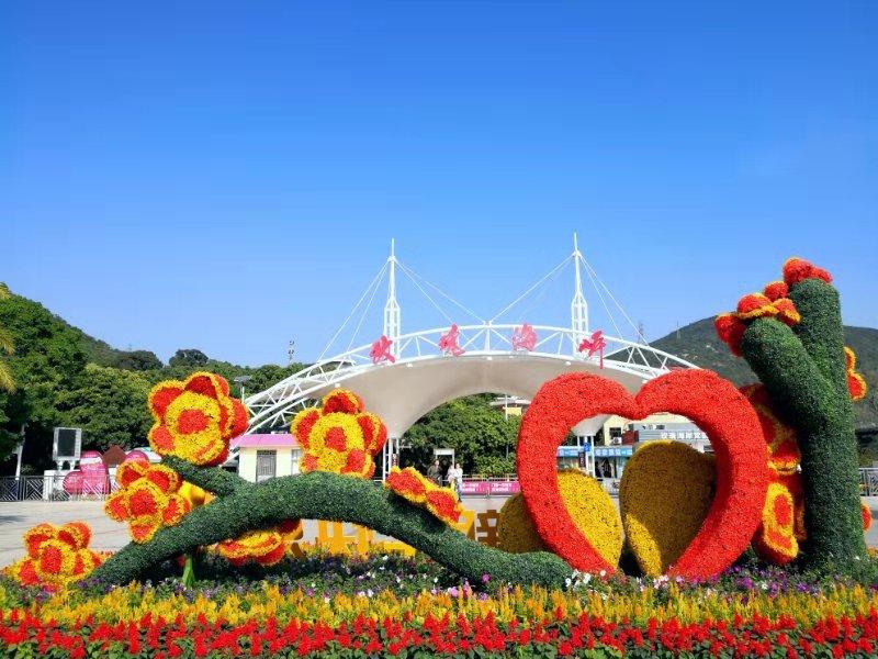 沙雕艺术节!深圳玫瑰海岸春节飞扬爱情气息