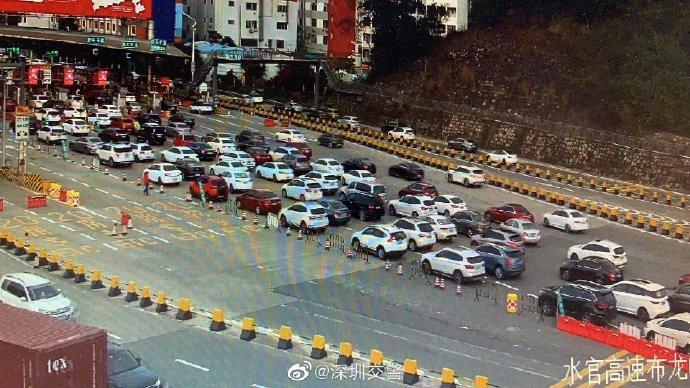 久违的深圳早高峰回来了!今天你堵在路上了吗