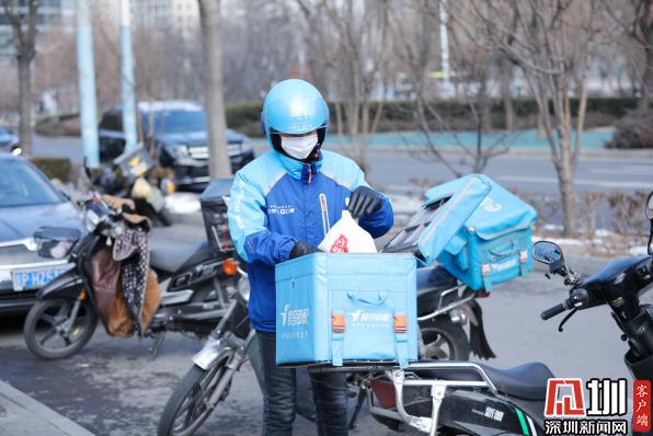 深圳餐饮商户因疫情上线外卖续命