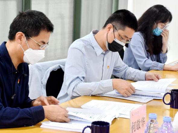 盐田区教育局开学工作督导组莅临万科梅沙书院指导防疫工作