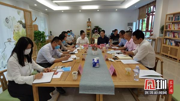 深圳市人才集团莅临西湾人才园调研人才服务工作