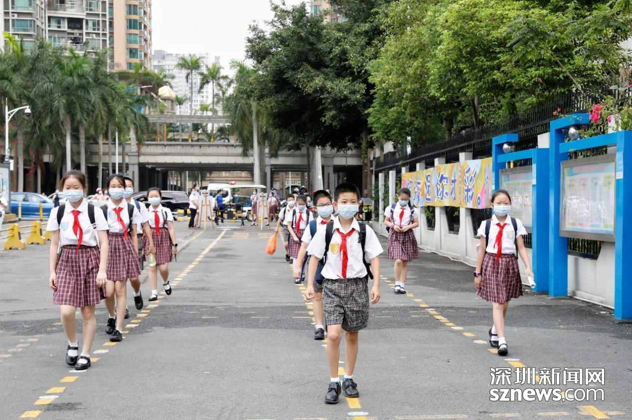有爱校园,相聚如此美好!深圳迎来第二批学生返校!
