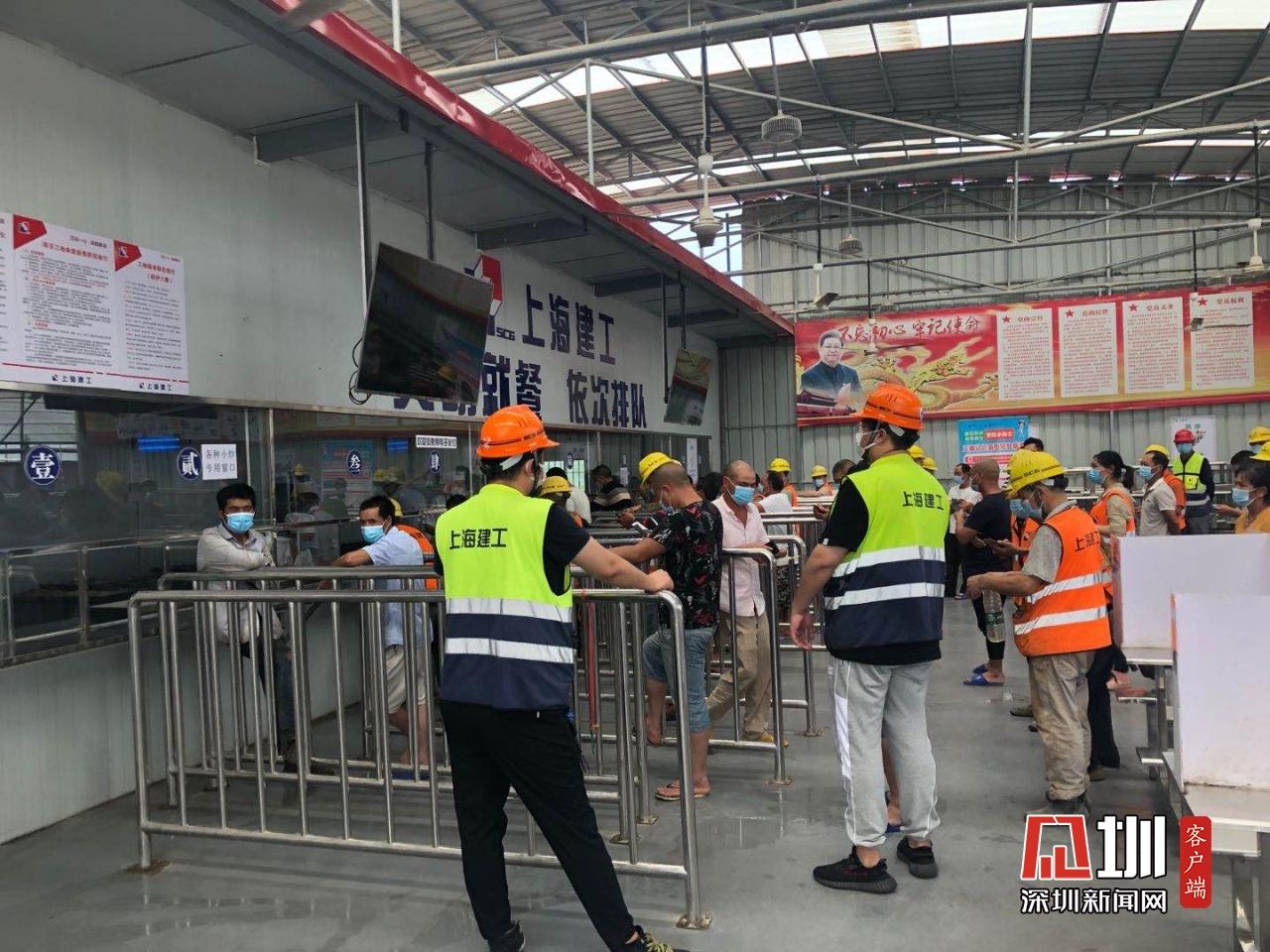 星期三查餐厅|突查深圳市技术大学建筑工地食堂