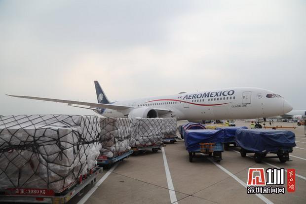 """深圳成国际热门""""提货地"""" 近30家国外航司来深运货忙"""