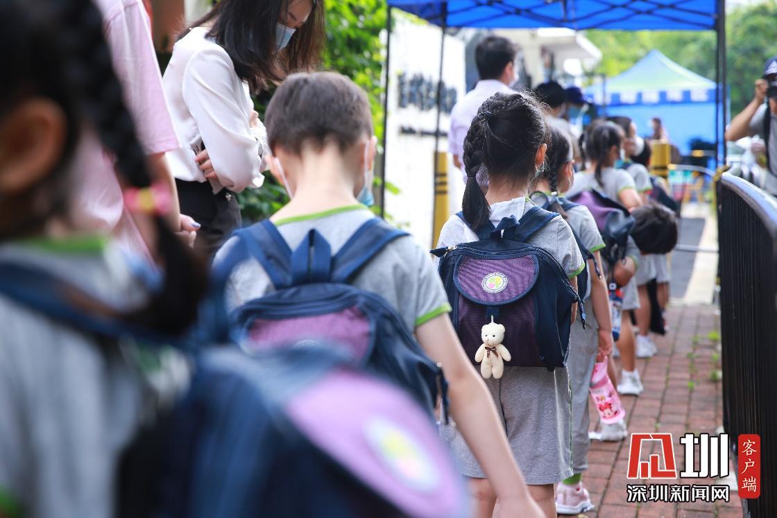 图集 深圳幼儿返园第一天,开心、激动、独立、有序……