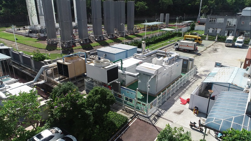 在现场:揭秘深圳首个楼宇型分布式能源站