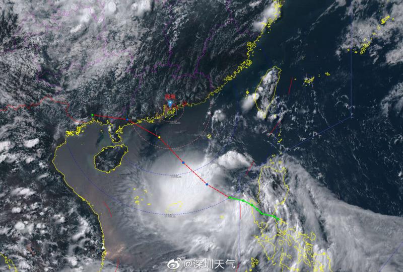 今年第2号台风最强可达强热带风暴或台风深圳周末有明显风雨影响