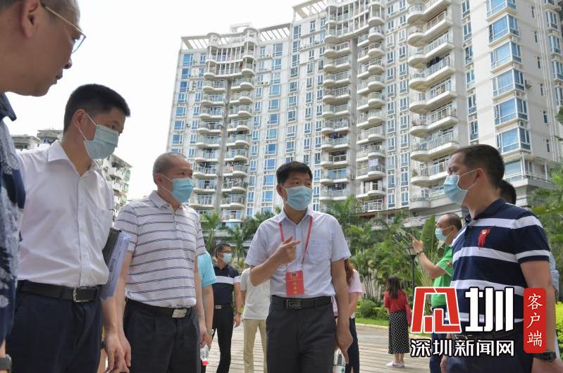龙岗区政协领导率队赴区住建局开展提案办理协商月活动