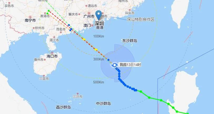 台风预警升级!各部门严阵以待!深圳受影响最大时间段是…